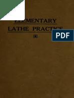 Elementary Lathe Practice 1917