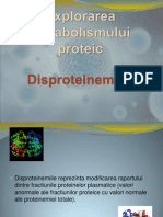 Explorarea Metabolismului Proteic