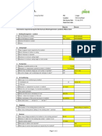 Site Survey Checklist