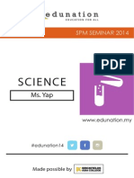 Science Note  frm free education malaysia [2014 seminar]