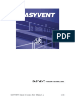 Ventilación. EASYVENT. Manual de Usuario. VERSIÓN 1.5 ABRIL 2004. Soler & Palau, S.A.
