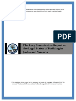 The Levy Commission Report on the Legal Status of Building in Judea and Samaria2