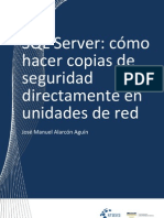 Backups de red Con SQL SERVER
