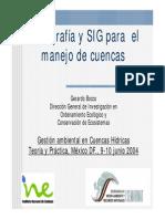 Cartografia Sig Manejo Cuencas