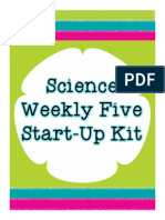 Science Weekly Five Start Up Kit