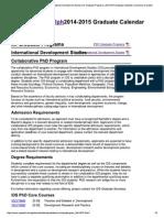 Collaborative PhD Program