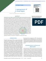 Perioperative Management of Traumatic Brain Injury