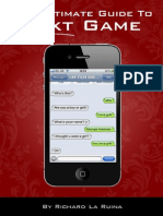 The Ultimate Guide to Text Game