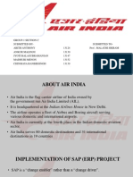 Mis Presentation for Air India