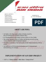Mis Presentation for Air India