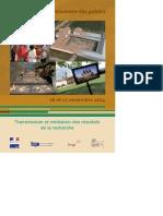 Archéologie_à La Rencontre Du Publique Colloque INP Novembre 2014