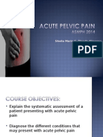 2014 Acute Pelvic Pain (1)