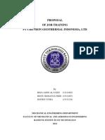 Proposal Kerja Praktek Di Cgi