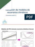 Validación_escenarios climáticos
