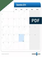 Calendário Dezembro 2014