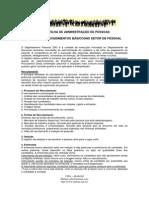 2ª Cartilha de ADM RH-Procedimentos