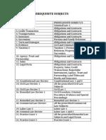 DLSU Law Curriculum
