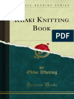 Khaki Knitting Book 1000008896