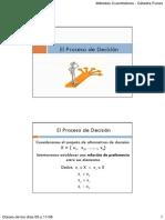 El Proceso de Decisión V1