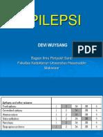 (Neurology) Epilepsi Kuliah DEVI