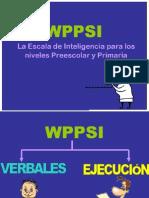 Aplicacion Del Wppsi-r