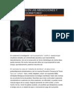 Gustavo Fernández - La Parálisis en Las Abducciones y Visitas de Dormitorio