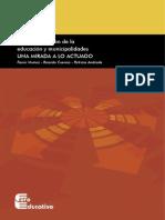 Descentralización de la educación y municipalidades UNA MIRADA A LO ACTUADO