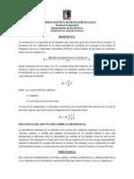 Características fundamentales por km de línea