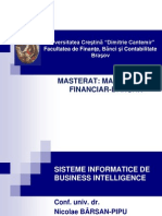 Sisteme Informatice Bi - Tema 1
