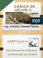 Cap II - RESISTENCIA AL ESFUERZO CORTANTE DE LOS SUELOS (8).ppt