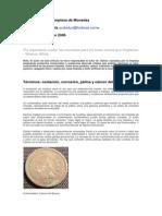 Conservación y Limpieza de Monedas