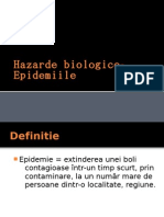 Hazarde biologice-Epidemiile