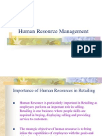 (7) Human Resource Management