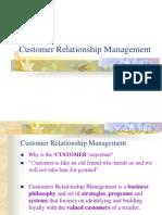 (8) Customer Relationship Management