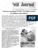Petit Journal 21 Octobre 1881, Scénario l'Accusateur