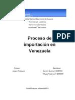 Proceso de Importación en Venezuela
