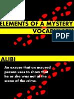 Whodunnit Vocabulary