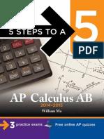 5 Steps to a 5 AP Calculus AB 2014-2015.pdf