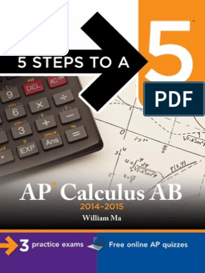 5 Steps to a 5 AP Calculus AB 2014-2015 pdf | Integral
