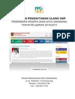 Panduan Untuk Mendaftar Ulang SMP