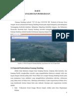 [Bab II] Karakteristik Gunung Sumbing
