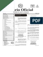 Código Ambiental de Santa Catarina - Lei 6.342 - 2014