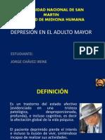 Depresion en Adulto Mayor