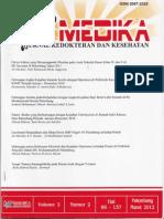Hubungan Angka Kejadian Katarak Senilis dengan Hipertensi di Poliklinik Rawat Jalan RSMP Periode Januari-Desember 2010