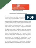 Programa Seminario Clinico 2014