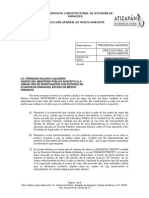 Dirección General Del Medio Ambiente Informe Mp