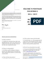 portfolio intro