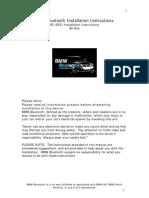 BMW Bluetooth E53 Bluetooth Install