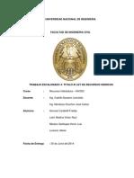 Titulo III Ley de Recursos Hidricos
