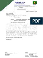 Carta Para Solicitar Devolución de Garantia